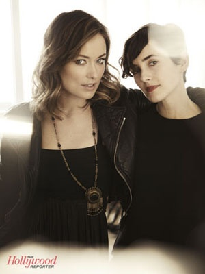 Olivia Wilde & Karla Welch Photoshoot for The Hollywood Reporter's 25 Most Powerful Stylists Issue