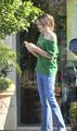 Paris Jackson at the Commons in Calabasas March 11th 2012