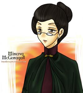 Professor Minerva McGonagall.