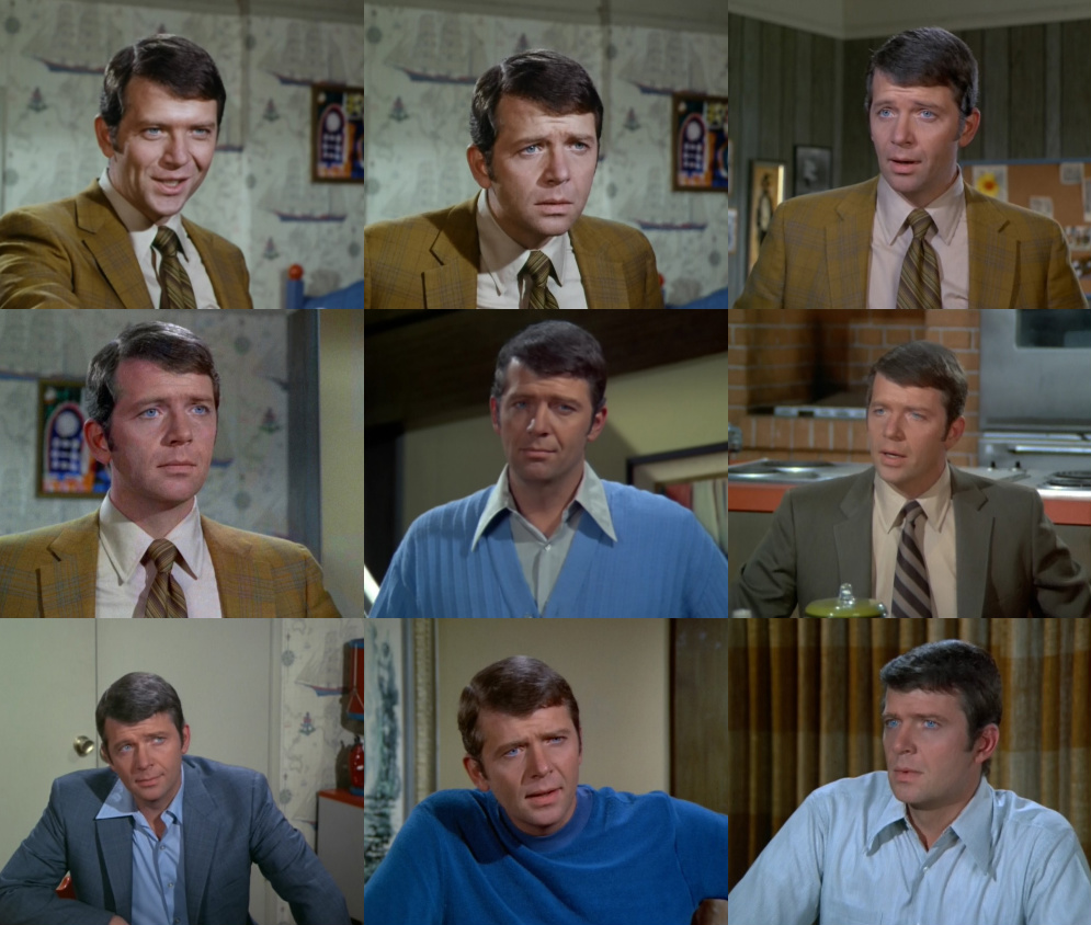Robert Reed as Mike Brady