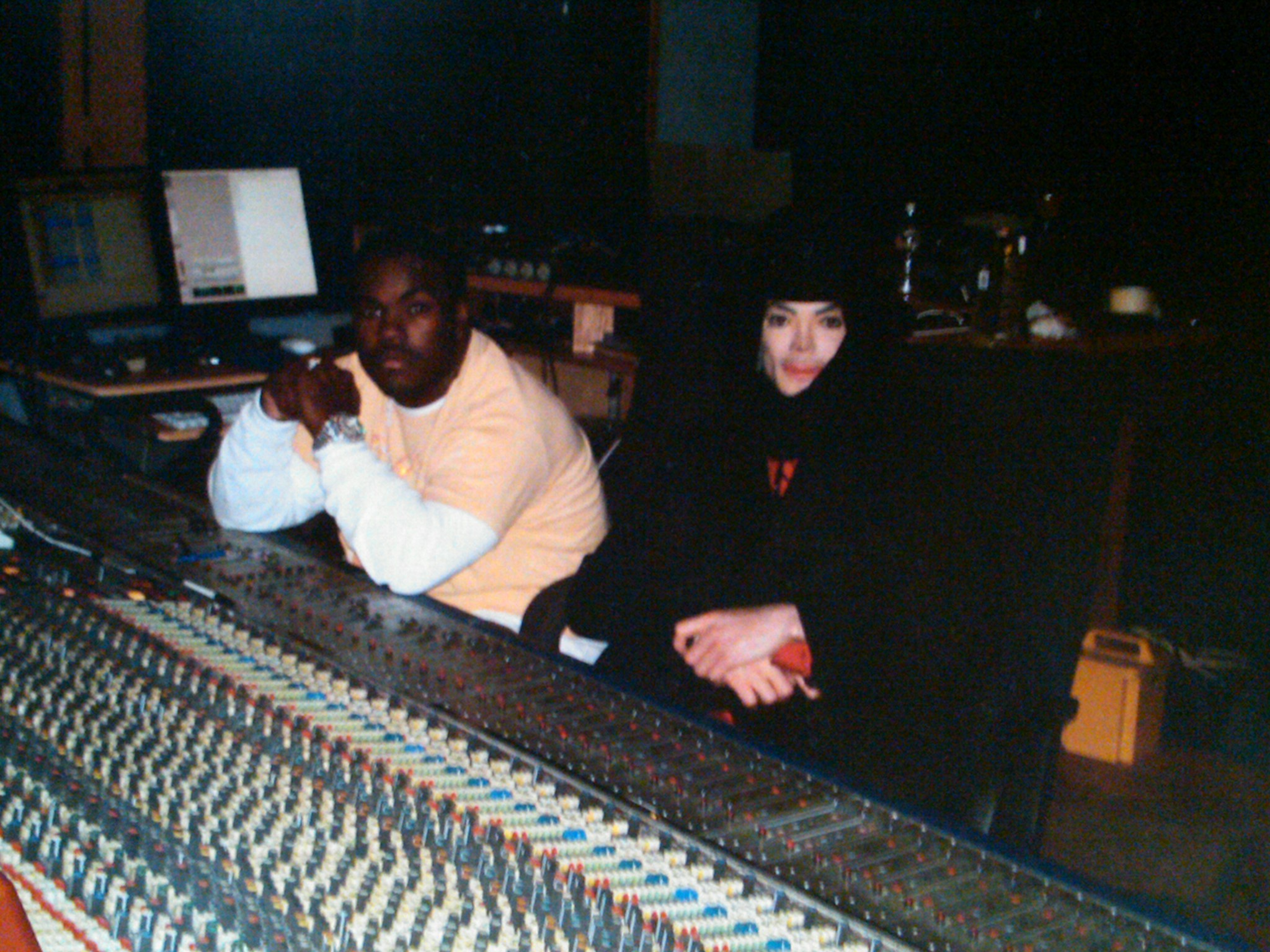 Rodney Jerkins and Michael Jackson