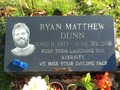 Ryan Dunn's Grave - ryan-dunn photo