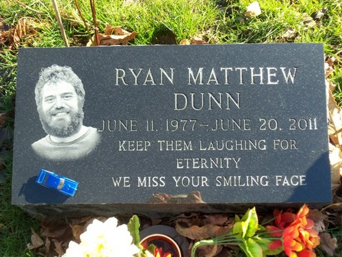 Ryan Dunn wallpaper called Ryan Dunn's Grave