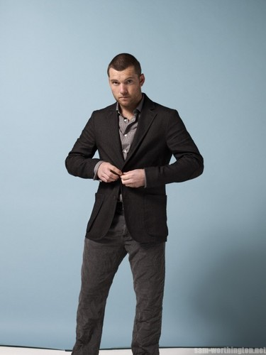 Sam Worthington wallpaper with a business suit, a suit, and a well dressed person entitled Sam @ photoshoots