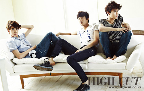 Se Hun &amp; Kai &amp; Su Ho @ HIGH CUT - exo-k Photo