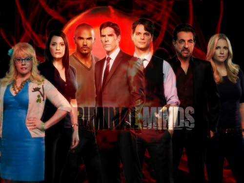 Season Five Criminal Minds Wallpaper