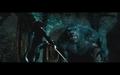 Selene vs. giant werewolf - underworld screencap