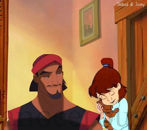 Sinbad & Jenny.