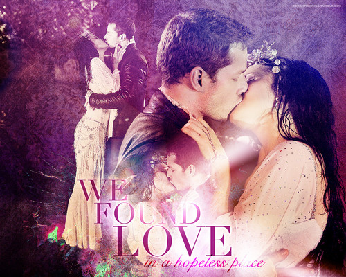 Snow/Charming - We Found Love - once-upon-a-time Wallpaper