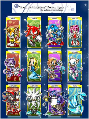 Sonic Zodiac Signs