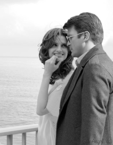 Nathan Fillion & Stana Katic fond d'écran entitled Stanathan *-*