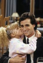 Stephanie kissing Danny