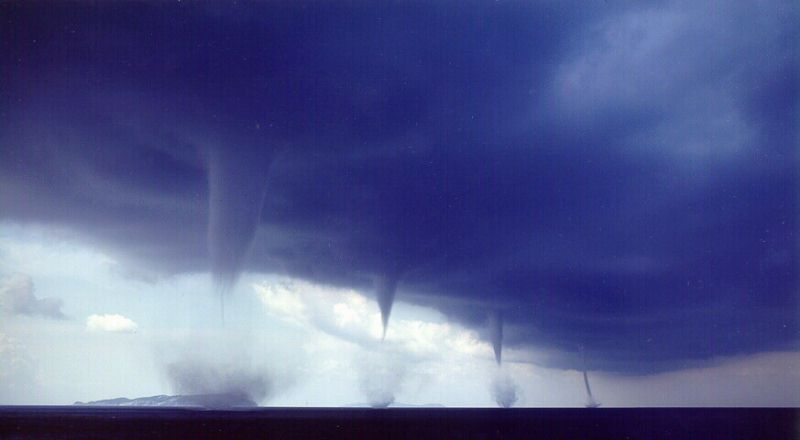 Tornadoes, The ...