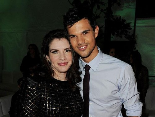 Taylor and Stephenie Meyer