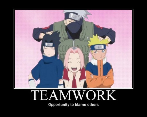 Naruto wallpaper with anime called Teamwork