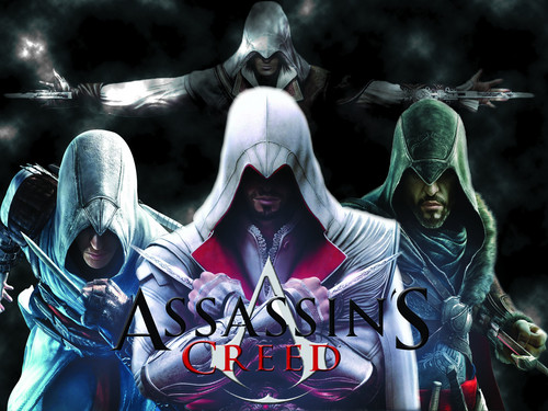 Assassin's Creed wallpaper with a breastplate entitled The Assassins