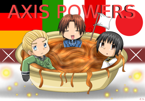 The Axis Powers X3