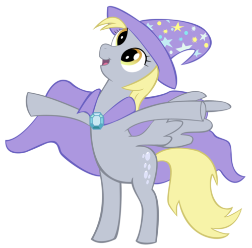 The Great and Powerful Derpy