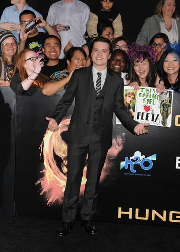 The Hunger Games LA Premiere
