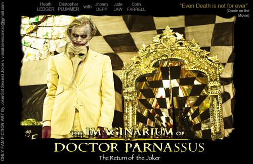 The return of the joker in Imaginarium Dr Parmassus