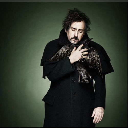 Tim Burton wallpaper probably containing a business suit, a trench coat, and a fur coat titled Tim Burton