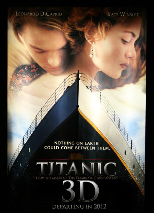 Titanic 3D fanart movie poster