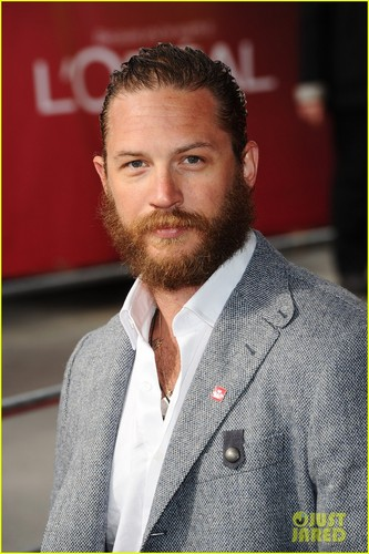 Tom Hardy Celebrates Success with the Prince's Trust 14th March 2012
