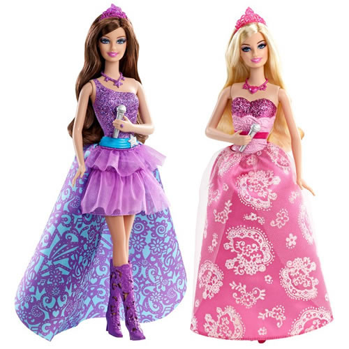 Tori and Keira's dolls - barbie-movies photo