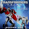Transformers Prime Soundtrack cover