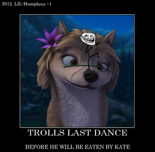 Troll is annoying the wrong Wolf!