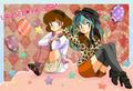 Urusei Yatsura _ Lum and Shinobu