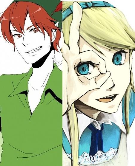 "Wally&Artemis in ""Artemis in Neverland"""