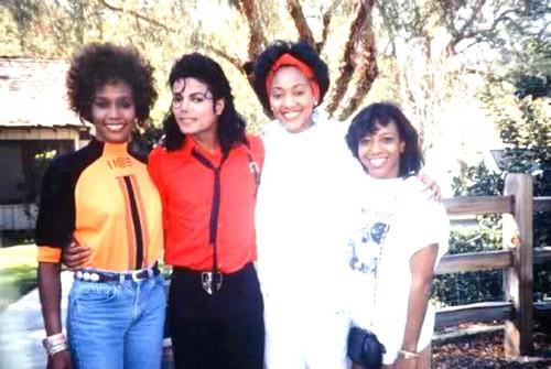 Whitney And Michael Jackson