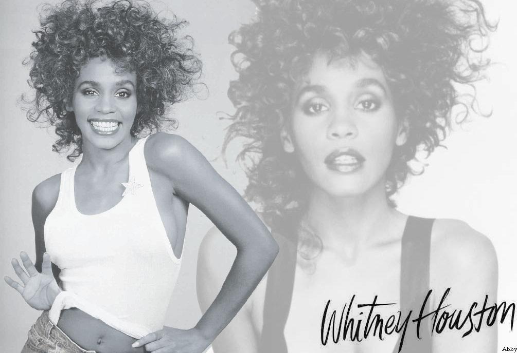 Whitney Houston  nackt