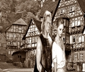 William Portly & Constance Northwood in Germany