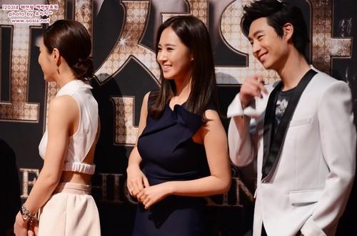 kwon Yuri fondo de pantalla with a bridesmaid entitled Yuri @ SBS Fashion King Press Conference