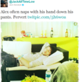 alex sleeps... - jack-barakat-and-alex-gaskarth photo