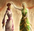 Sansa Stark & Olenna Tyrell