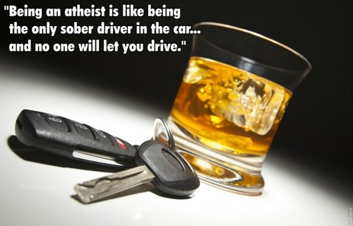 atheist sober driver