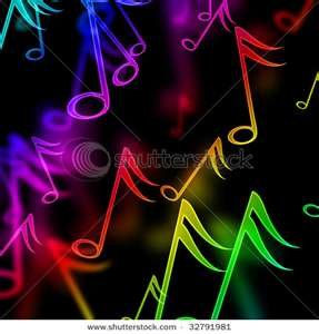 Your Songs Images Colorful Music Notes Wallpaper And Background Photos