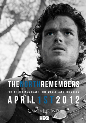Season 2 Poster- Robb Stark