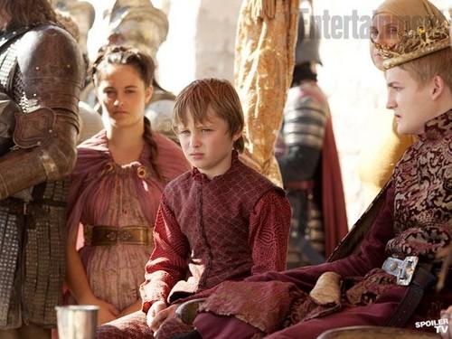 Joffrey & Tommen Baratheon