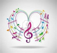 Your Songs Images Heart Of Colorful Music Notes Photo 29792048