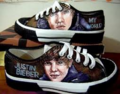 my proof of my shoes - justin-bieber screencap