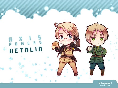 Hetalia wallpaper with anime called official art