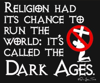 religion had its chance - atheism Photo