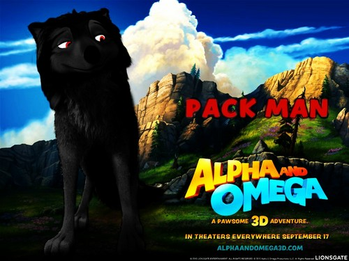 Alpha und Omega Hintergrund called shadows a pack man LOL