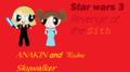 star wars 3 powerpuff style