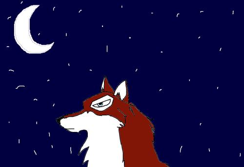 taku glancing at the moonlight