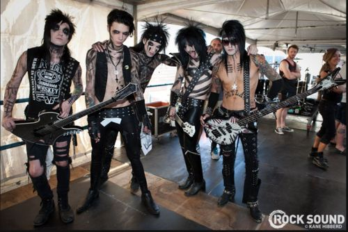 bvb wallpaper possibly with a rifleman, a hip boot, and a navy seal titled <3<3<3Black Veil Brides<3<3<3